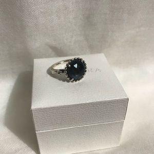 Pandora Midnight Star Sterling Silver Ring